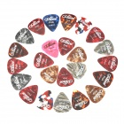 High Quality Celluloid Guitar Picks (24-Piece Pack)