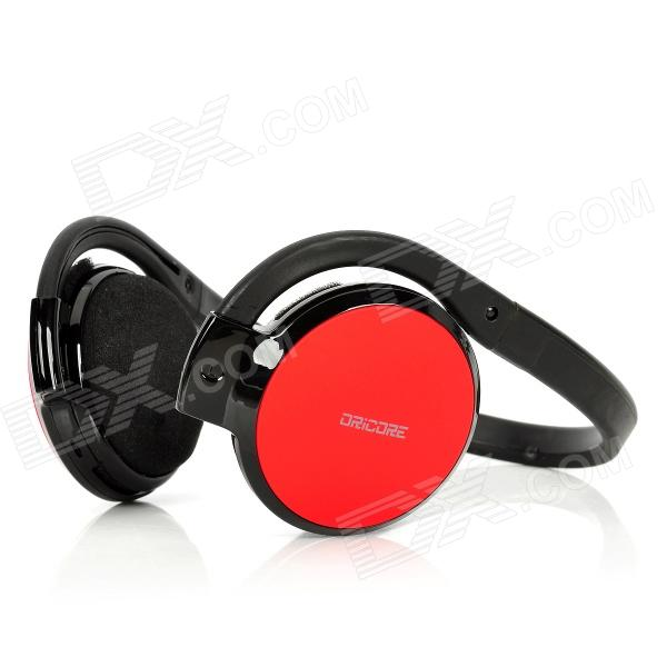 все цены на ORICORE Rechargeable Stereo Bluetooth V2.1 Headset Headphone with Microphone - Red + Black онлайн
