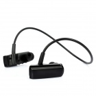 Rechargeable Sports MP3 Player Headphone Headset with FM / TF Slot - Black