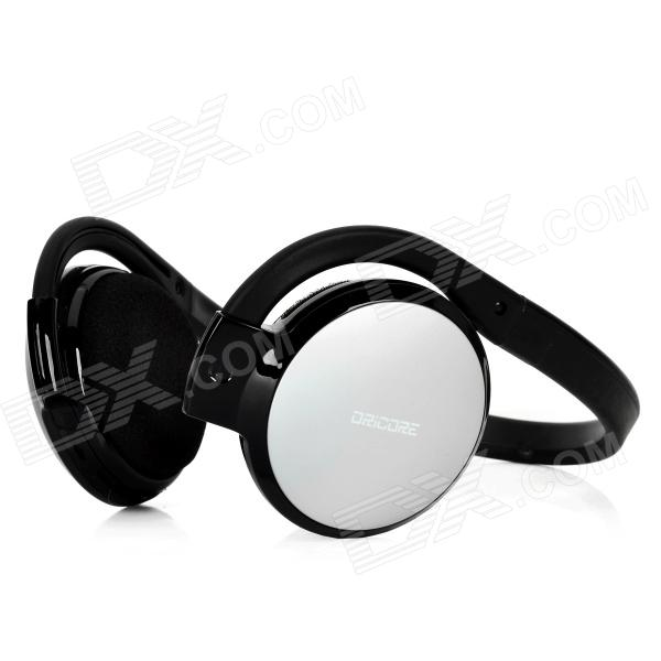 ORICORE Rechargeable Stereo Bluetooth V2.1 Headset Headphone with Microphone - Silver + Black