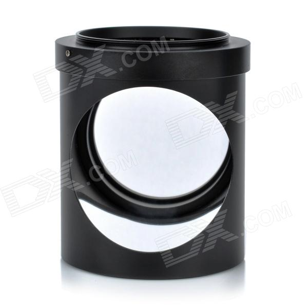 58mm Spy Right Angle Mirror Spy Lens - Black