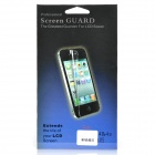 Glossy Front / Back Screen Protector / Guards + Reinigungstuch für iPhone 4 / 4S - Grün