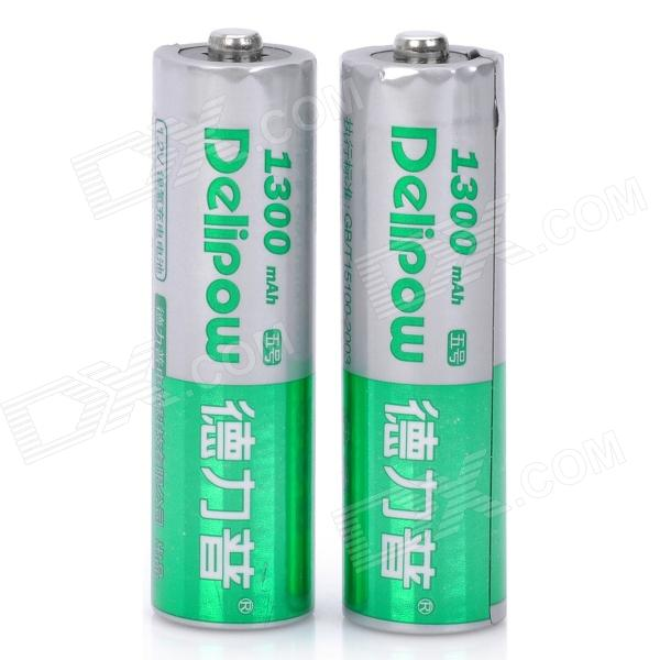 Delipow Rechargeable 1.2V 1300mAh AA Battery (2-Piece Pack) rf2001t3s to 220f