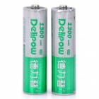 Buy Delipow Rechargeable 1.2V 1300mAh AA Battery (2-Piece Pack)