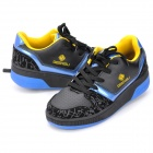 Fashion Sports Heelys Roller Shoes - Black + Blue (Pair/Size-41)