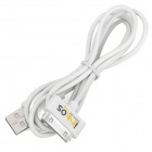 IMOS Dock Connector to USB Cable for Apple Series - White (100cm-Length)