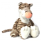 Cute Plush Nici Tiger Toy - Brown + White