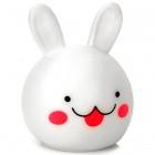 Cute Rabbit Style LED Night Lamp - White (3 x LR44)