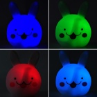 Cute Rabbit Estilo da lâmpada LED Night - Branco (3 x LR44)