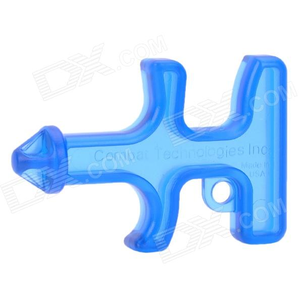 Unique Plastic Outdoor Safety Self Defense Drill - Transparent Blue