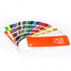 RAL K7 Paint Color Page Chip Card Brochure