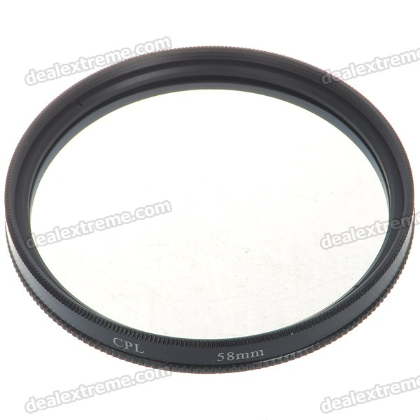 CPL Polarizer Lens Filter (58mm)