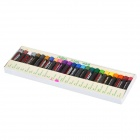 25-in-1 Multi-Colored Paraffin Oil Pastel Set