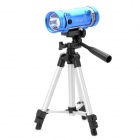 Rechargeable 7200mAh Blue & White Light Source Fishing Light with Tripod Stand - Sky Blue
