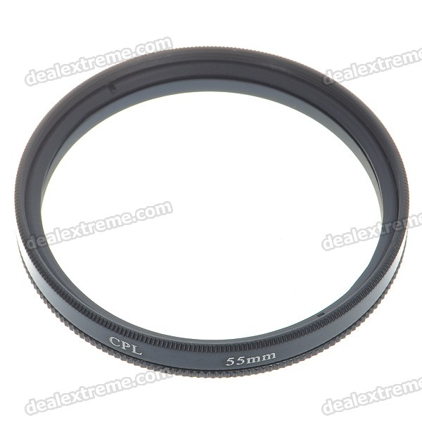 CPL Polarizer Lens Filter (55mm)