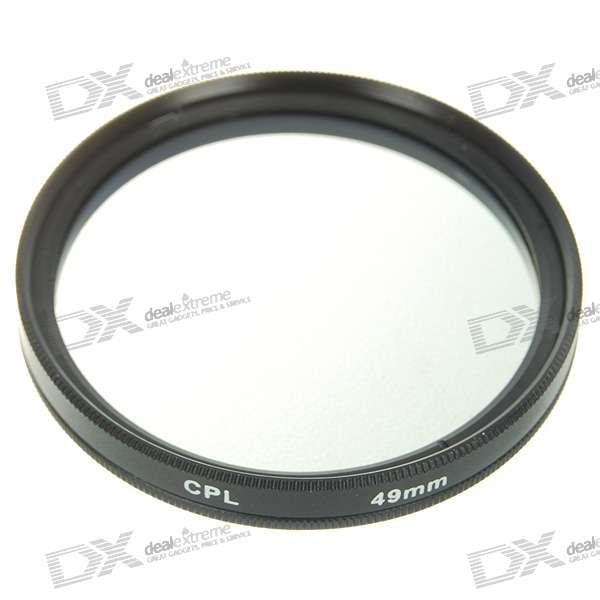CPL Polarizer Lens Filter (49mm)