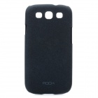 ROCK Quicksand Series Protective PC Back Case for Samsung i9300 / Galaxy S III - Black