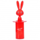 Cute Rabbit Style Automatic Toothpick Holder - Red