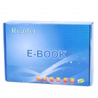 "7.0"" TFT LCD Multi-Media Player E-Book Reader w/ FM / TF - Black (4GB)"