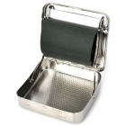 Stainless Steel Mascotte Cigarette Tobacco Rollbox - Silver