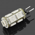 G4 1.8W 116~126LM Yellow Light 9*5050 SMD LED Corn Bulb (12V)