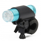 FZ-012 1W 9-LED White Light Bicycle Flashlight - Blue (3 x AAA)