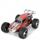 2019 R/C 4-Channel High-Speed Off-Road Vehicle Model Toy - Red + Black
