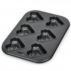 Heart Shaped Cake Maker DIY Mould Tray - Grey