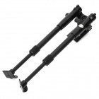 HB-06 Pig Iron Retractable Tactical Bipod Rifle Stand - Black