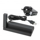 Charging Docking Station + UK Plug Charging Adapter Set for Samsung Galaxy S3 i9300 - Black
