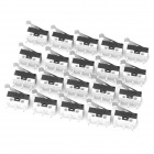 3-Pin Power Control Micro Switches (20-Piece Pack)