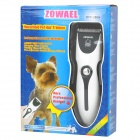 RFC-280A Rechargeable Pet Hair Clipper w/ Trimmers/EU Plug  - White + Black