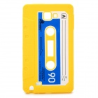 Stylish Cassette Tape Style Protective Silicone Case for Samsung i9220 Galaxy Note - Yellow