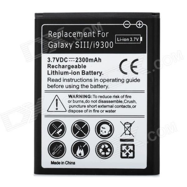 Replacement 3.7V 2300mAh Li-ion Battery for Samsung Galaxy S3 i9300