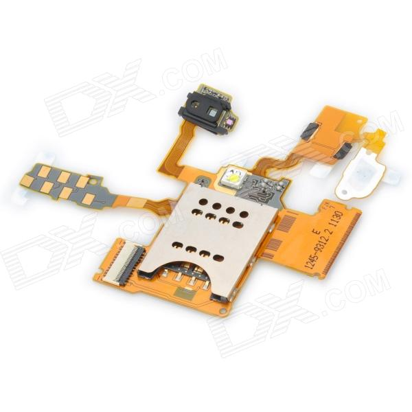 SIM Card Socket Flex Cable Ribbon for Sony Ericsson ST18i Xperia Ray sony ericsson k800i