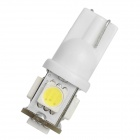 T10 0.85W 90lm 5-LED branca Lâmpada Car Light - Branco (DC 12V)