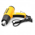 L501882 1600W 2-Mode Electric Hot Air Heat Gun - Yellow (AC 220V)