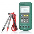 "2.4"" LCD Handheld Voltage / Current Loop Calibrator w/ Case - Green (1 x 6F22)"