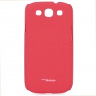 TS-CASE Protective PC Case for Samsung i9300 Galaxy S3 - Red