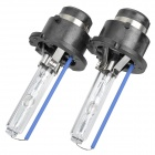 D4C 35W 8000K 3000lm Blue White Light Xenon HID Headlamps (Pair / 12V)