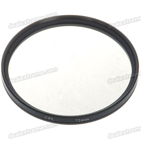 CPL Polarizer Lens Filter (72mm)