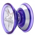 Stylish Plastic + Stainless Steel YO-YO Toy - Purple