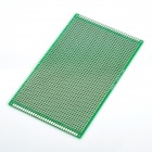 Arduino Compatible Double-Sided PCB Protoboard - Green (9 x 15cm)