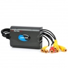 USB 2.0 4-Channel Video Audio Monitoring Capture Card (NTSC / PAL) - Deep Grey