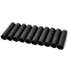 ABS + PE Electronic Cigarette Cartridge - Black (10-Piece Pack)