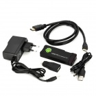 AK802 Mini Android 4.0 Media Player w/ EU Plug / Wi-Fi / HDMI / TF / USB - Black (4GB / 1GB DDR III)