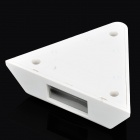 Vertical View Triangle Curtain Style PIR Detector - White (DC 9~16V)