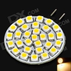 G4 1.8W 120-150LM 3000-3500K Warm White 30-SMD 3528 LED Light Bulb (12V)