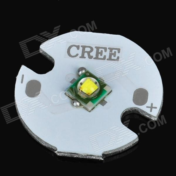 3W 122lm 6000-7000K White 1-Cree XP-E Light Emitter - Yellow + White