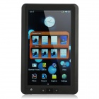 "7.0"" TFT Resistive Touch Screen Multi-Media Player E-Book Reader w/ FM / TF - Black (8GB)"